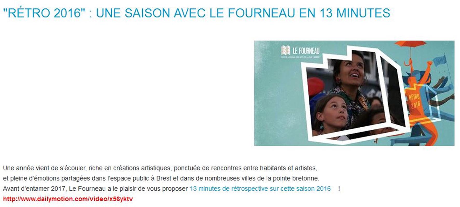 Le Fourneau 2017